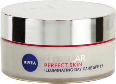 Nivea Cellular Perfect Skin освітлюючий денний крем SPF 15