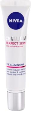 Nivea Cellular Perfect Skin crema iluminadora para contorno de ojos