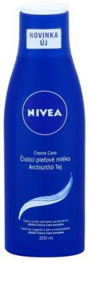 Nivea Creme Care почистващо мляко за тяло