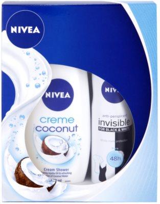 Nivea Creme Coconut kosmetická sada I.