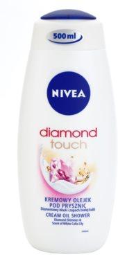 Nivea Diamond Touch krémes tusoló gél
