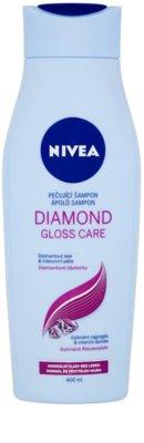 Nivea Diamond Gloss sampon pentru par obosit fara stralucire