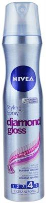 Nivea Diamond Gloss лак для волосся