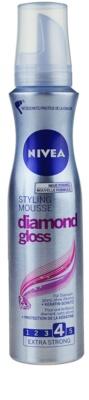 Nivea Diamond Gloss espuma modeladora