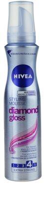 Nivea Diamond Gloss pěnové tužidlo