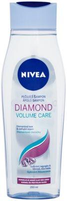 Nivea Diamond Volume champô para volume e brilho