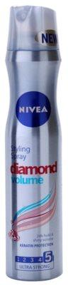 Nivea Diamond Volume laca de cabelo para volume e brilho