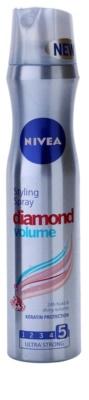 Nivea Diamond Volume лак за коса за обем и блясък