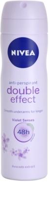 Nivea Double Effect antitranspirante en spray