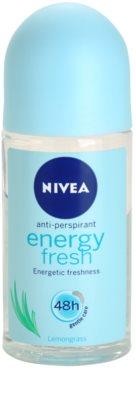 Nivea Energy Fresh antitranspirante roll-on