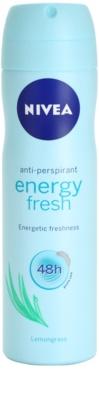 Nivea Energy Fresh dezodorant v pršilu