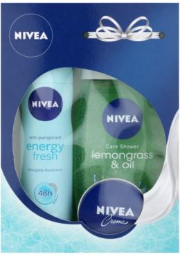 Nivea Energy Fresh lote cosmético I.