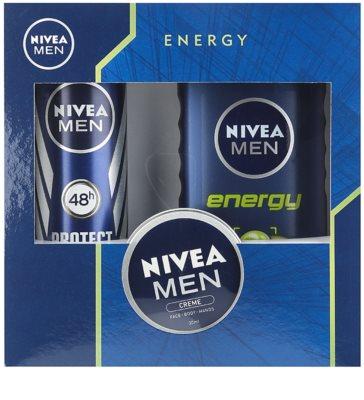 Nivea Men Energy lote cosmético II.