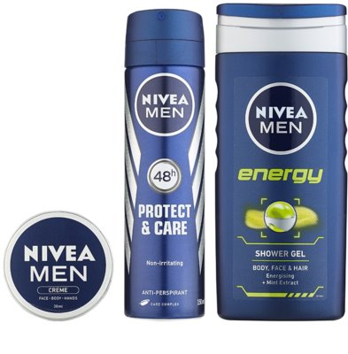 Nivea Men Energy kozmetični set II. 1