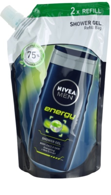 Nivea Men Energy gel de ducha Recambio