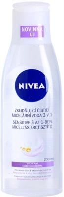 Nivea Face apa pentru  curatare cu particule micele pentru piele sensibila