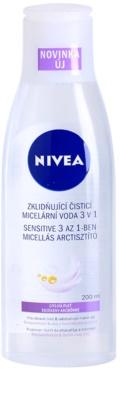 Nivea Face мицеларна почистваща вода за чувствителна кожа на лицето