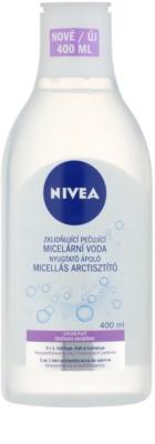 Nivea Face заспокоююча очищаюча міцелярна вода для чутливої шкіри