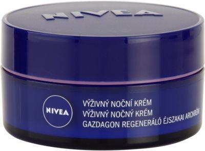 Nivea Face crema de noapte nutritiva pentru piele uscata spre sensibila