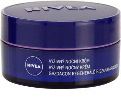 Nivea Face crema de noche nutritiva  para pieles secas y sensibles