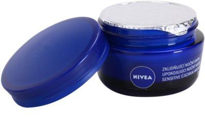 Nivea Face нічний заспокоюючий крем для чутливої шкіри 1