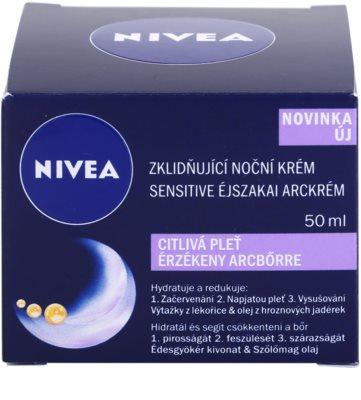 Nivea Face нічний заспокоюючий крем для чутливої шкіри 3