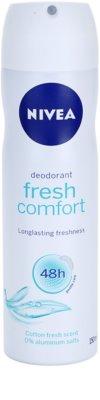 Nivea Fresh Comfort deodorant ve spreji