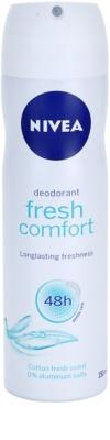 Nivea Fresh Comfort spray dezodor