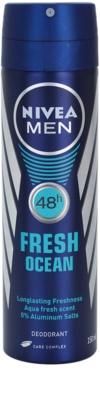 Nivea Men Fresh Ocean deodorant spray