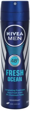 Nivea Men Fresh Ocean desodorizante em spray