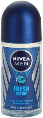 Nivea Men Fresh Active antyperspirant w kulce dla mężczyzn
