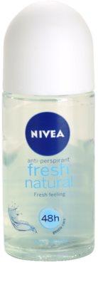 Nivea Fresh Natural roll-on antibacteriano
