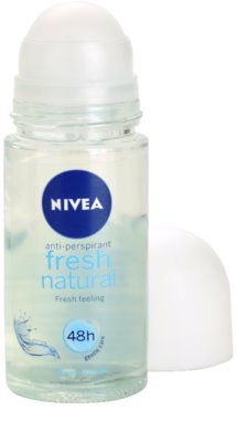 Nivea Fresh Natural antitranspirante roll-on 1