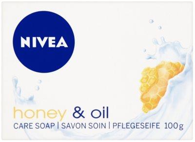 Nivea Honey & Oil tuhé mydlo