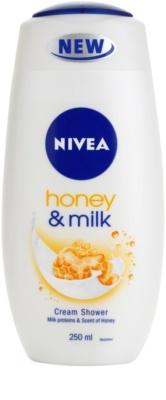 Nivea Honey & Milk gel cremos pentru dus