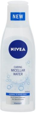 Nivea Caring erfrischendes Mizellarwasser mit Vitamin E