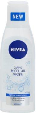 Nivea Caring osvežilna micelarna voda z vitaminom E