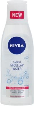Nivea Caring agua micelar para pieles secas y sensibles