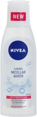 Nivea Caring micelární voda pro suchou až citlivou pleť