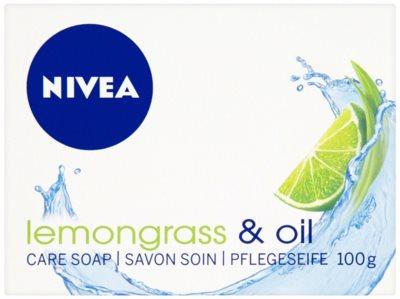 Nivea Lemongrass & Oil jabón sólido