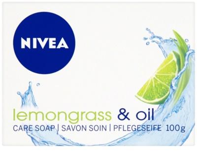 Nivea Lemongrass & Oil твърд сапун