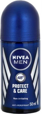 Nivea Men Protect & Care antitranspirante roll-on para hombre
