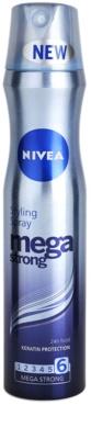 Nivea Mega Strong lakier do włosów bardzo mocno utrwalający