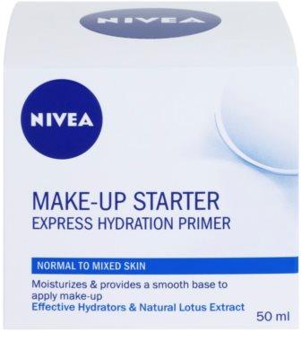 Nivea Make-up Starter prebase-crema con textura ligera para pieles normales y mixtas 3