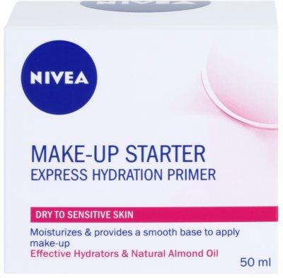 Nivea Make-up Starter легкий крем-основа для сухої та чутливої шкіри 3