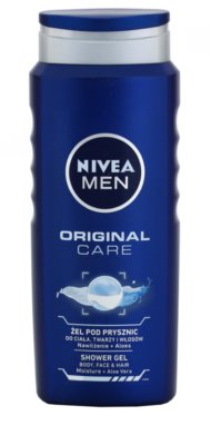 Nivea Men Original Care gel za prhanje za obraz, telo in lase