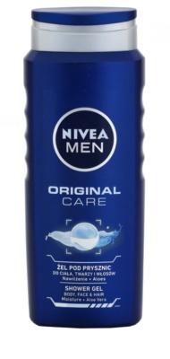 Nivea Men Original Care sprchový gel na tvář, tělo a vlasy