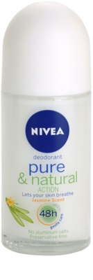 Nivea Pure & Natural desodorizante roll-on
