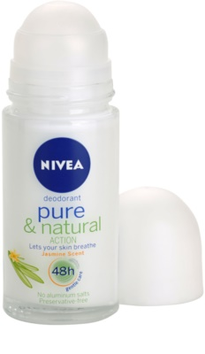 Nivea Pure & Natural desodorizante roll-on 1