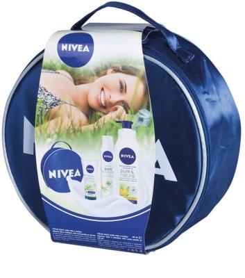 Nivea Pure & Natural zestaw kosmetyków I.